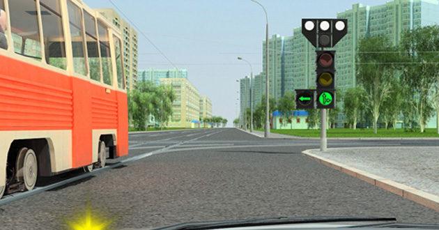 Проезд перекрестков при вождении машины