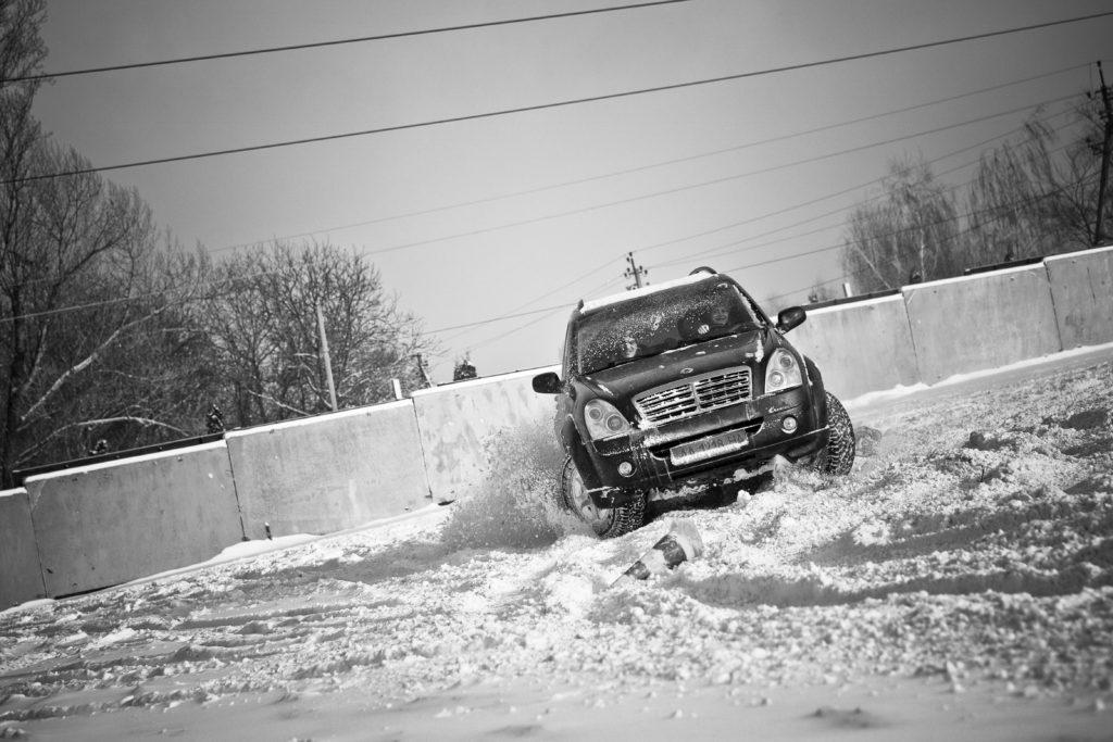 фото Вождение зимой